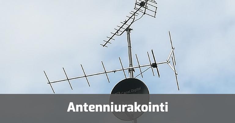 Antenniurakointi